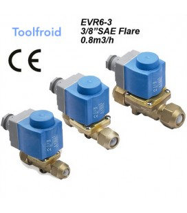 Electrovanne 3/8 SAE Flare