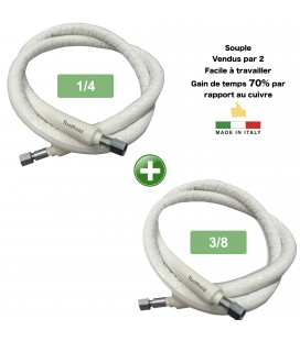 Air conditioning flexible tube 1/4-3/8 (3m)