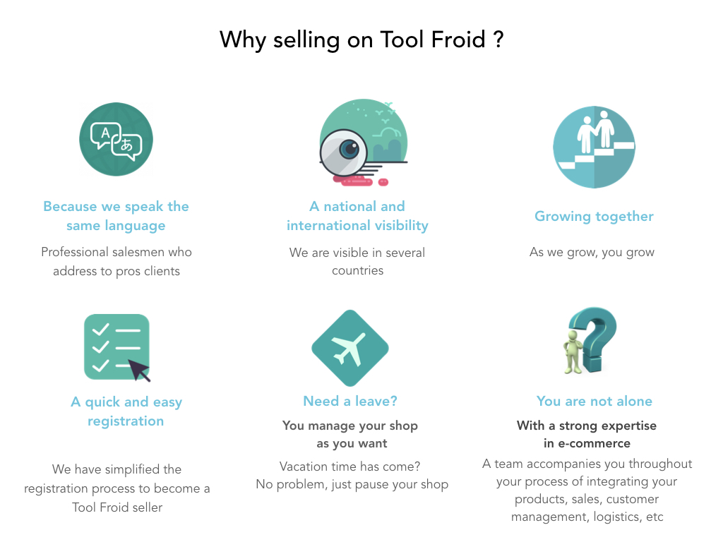 Become a seller - TOOLFROID