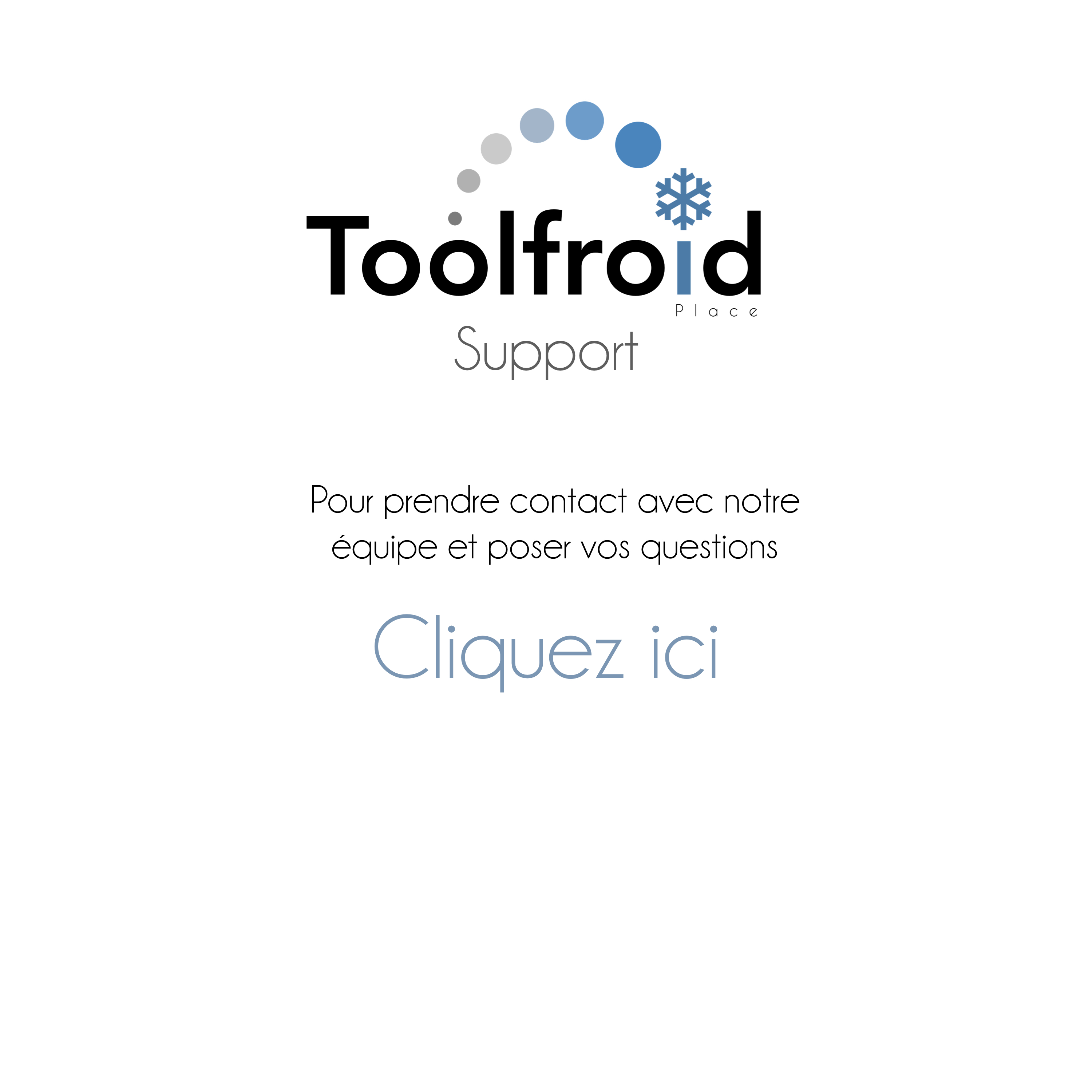contact tool froid
